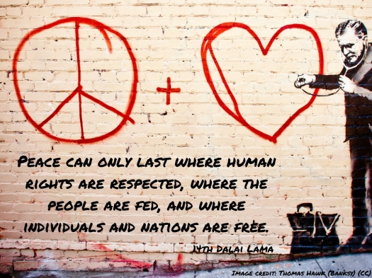 Peace can only last where human rights are respected, where the people are fed, and where individuals and nations are free..jpg