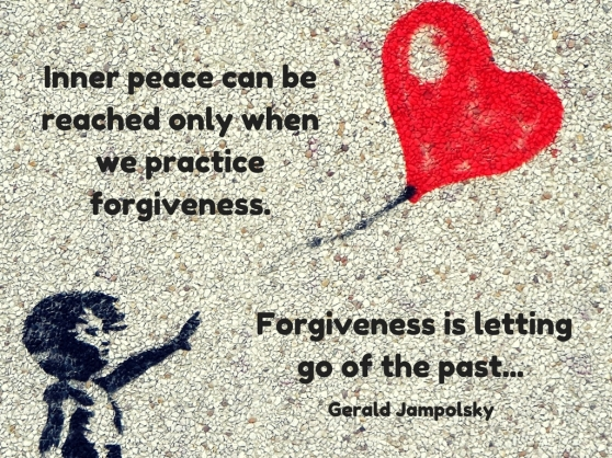 Inner peace can be reached only when we practice forgiveness. Forgiveness is letting go of the past, (1).jpg