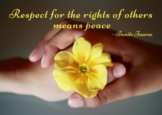 Respect for the rights of others means peace..jpg
